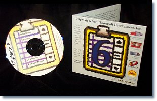 Actual photo of our CD and mailer. No fake box-shots here!